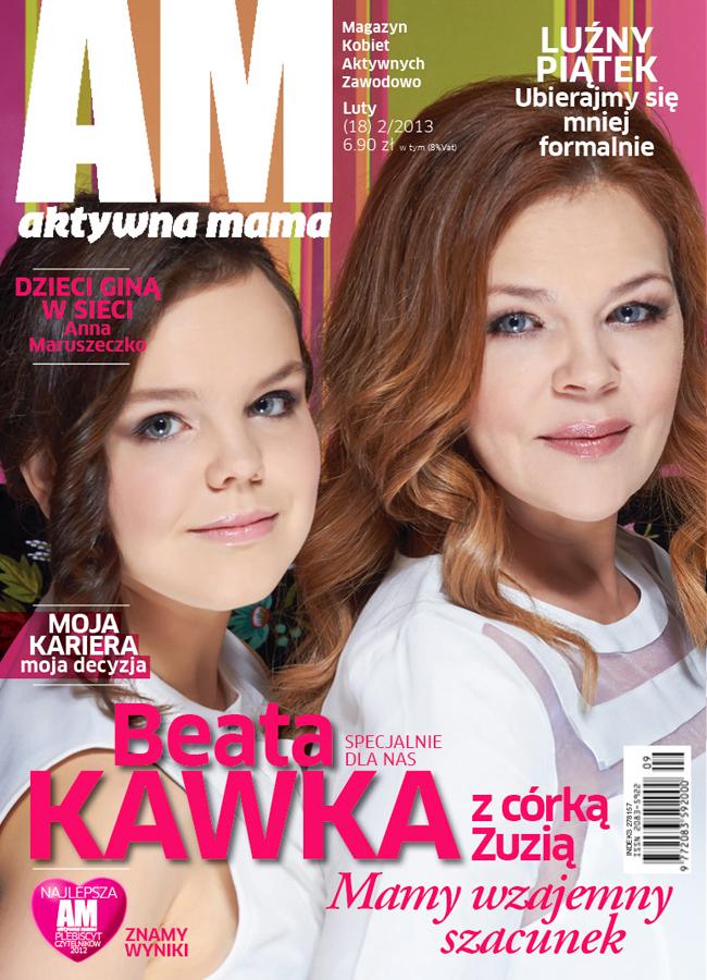 Beata Kawka, Aktywna Mama, Sylwester Zacheja