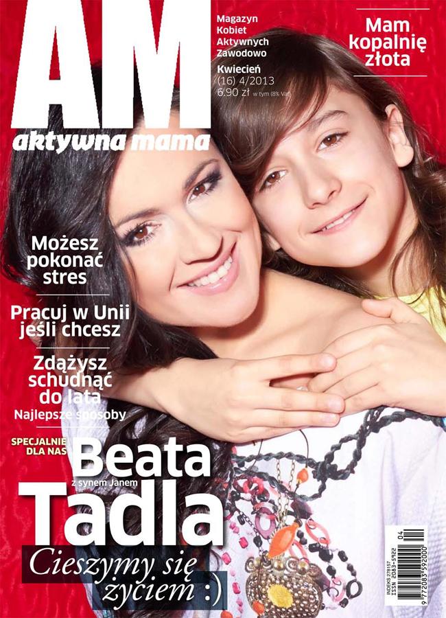 Beata Tadla, Aktywna Mama, Monika Butryn, Sylwester Zacheja