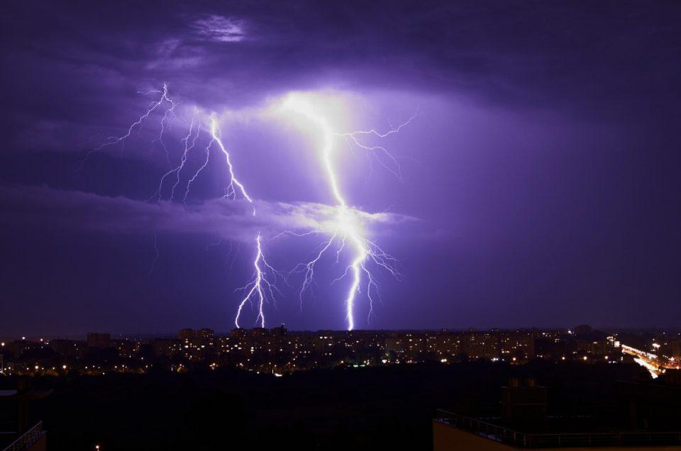 Idzie burza…
