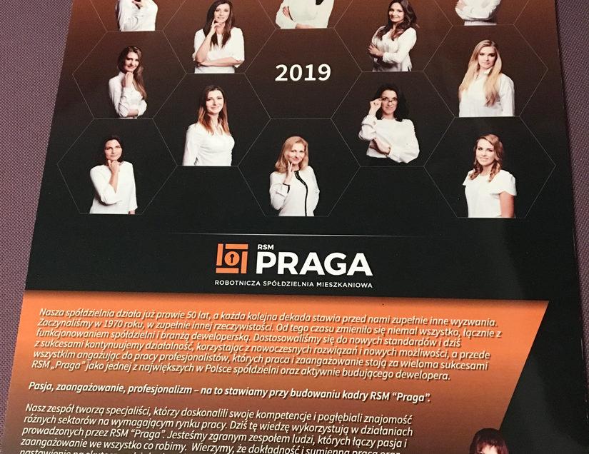 Kalendarz RSM PRAGA